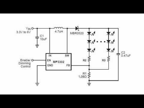 Высокоэффективный драйвер светодиодов MP3302