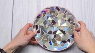 Удачное решение...    Что можно сделать из старых дисков...