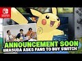 Pokémon Switch RUMOUR! - POKEMON SWITCH ANNOUNCEMENT SOON & Masuda Asks Fans To Buy Nintendo Switch!
