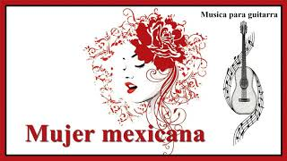 Mexican girl. Composition for guitar. Latin American style.