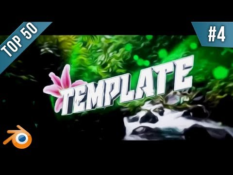 TOP 50 Blender intro Template #5 + Free Download [2016]