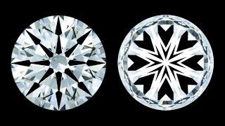 Repeat youtube video JannPaul Education: Super Ideal Cut Diamond vs Ideal Cut Diamond