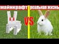 МАЙНКРАФТ ПРОТИВ РЕАЛЬНОЙ ЖИЗНИ 8 ! MINECRAFT VS REAL LIFE