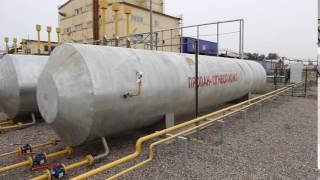Емкости газгольдеры для сжиженного газа СУГ в теплоизоляции(Система автономной газификации СУГ: 3 наземных емкости по 20 куб. каждая. Запас пропан-бутана 30 тн., 2016-09-16T03:54:07.000Z)