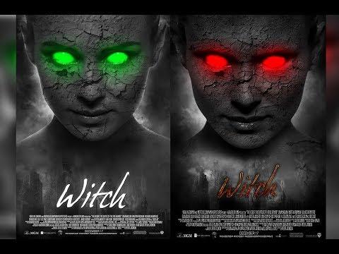 Photoshop Tutorial - Demon Eye Movie Poster (Manipulation)