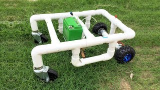 How to Make a Remote Control Lawn Mower at Home thumbnail