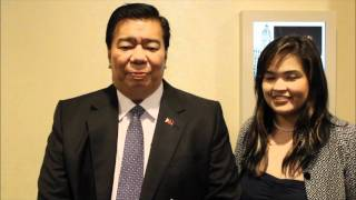 "Sen. Franklin Drilon endorses ""Rizal"