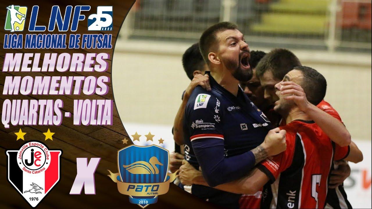 Quartas de Final - Melhores Momentos Joinville X Pato - Jogo de Volta LNF 2020 (24/11/2020)