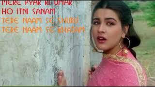 Mere Pyar ki Umar Ho Itni Sanam   Waaris   Lata mangeshkar and Manohar udhas   Mp3 song  