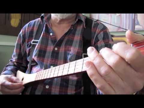 East Virginia Blues (4-string chromatic strumstick)