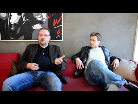 Anders Nilsson och Jens Hultén  Intervju inför Johan Falk Kodnamn Lisa Del 1 av 2