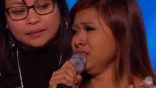 Shocking, Alisah Bonaobra got eliminated from X Factor UK but refuses to go home