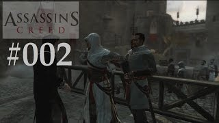 Assassins Creed #002 Altair`s TOD !   Templer Angriff (Let`s play Deutsch) Full HD