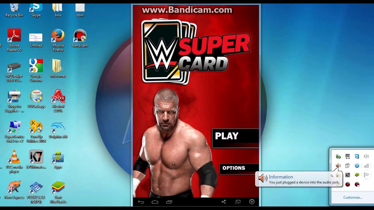 wwe supercard pc gratuit
