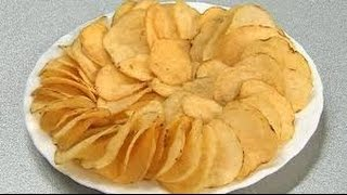 8 выпуск- как сделать очень вкусные хрустящие чипсы в домашних условиях!