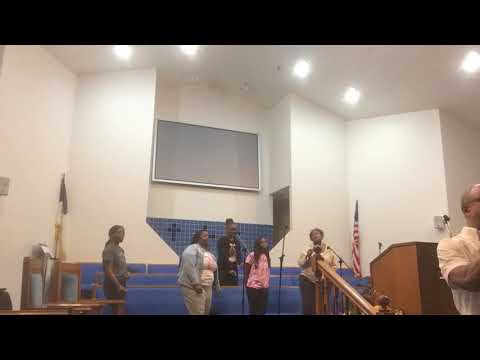 I Will Bless The Lord (Byron Cage) Phillips Temple Youth Choir with Gospel Trumpet REHEARSAL