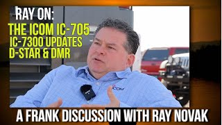 Ray Novak From Icom On Ham Radio, Life, D-star, IC-7300 and the New IC-705