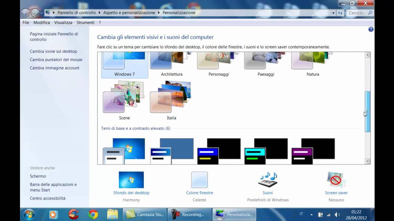 Come cambiare lo sfondo al computer