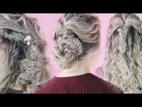 Quick & Easy Curly Hairstyles Tutorial - KayleyMelissa