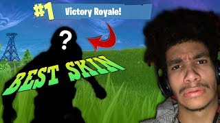 *WOW* The BEST Fortnite Skin EVER!?!? Fortnite Battle Royale
