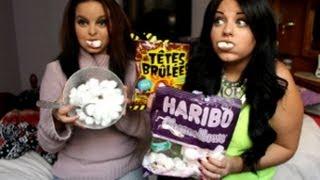 ♡ Tag 3 en 1 : Chubby bunny , têtes brûlées & cotton ball avec dalila