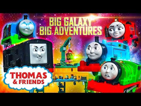 The Steam Awakens  Big Galaxy Big Adventures #5  Thomas & Friends UK Cartoons for Children