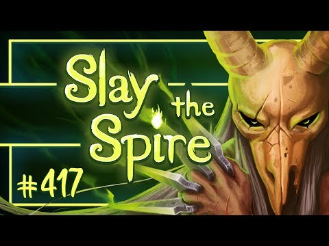 Lets Play Slay the Spire: Silent Ascension Level 19  Episode 417