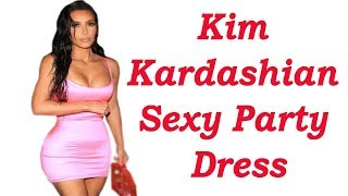 Kim Kardashian Sexy Cut Out Bodycon Party Dress Review