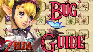 Legend of Zelda HD Twilight Princess HD Bug Locations