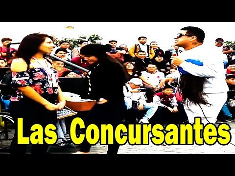 "Jefferson "" Las Concursantes "" - Comicos Ambulantes [ Completo ] Chabuca Granda"