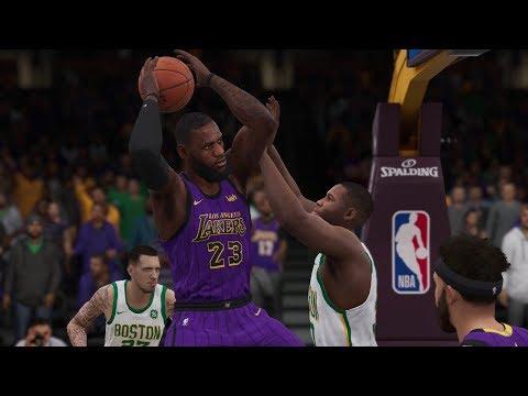 Los Angeles Lakers vs Boston Celtics – NBA Live 19 Gameplay Lakers vs Celtics Full Game