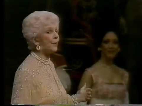Ethel Merman, Mary Martin--Beverly Sills Gala, 1981