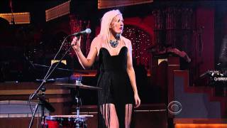 Ellie Goulding - Lights (Live on Letterman 01-18-2012) [HD 1080p]