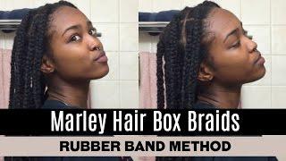 Video Marley Hair Box Braids (Using the Rubber Band Method) // Sakaela Jahstice download MP3, 3GP, MP4, WEBM, AVI, FLV Agustus 2017
