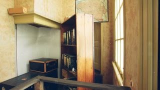 Anne Frank takes us behind the movable bookcase