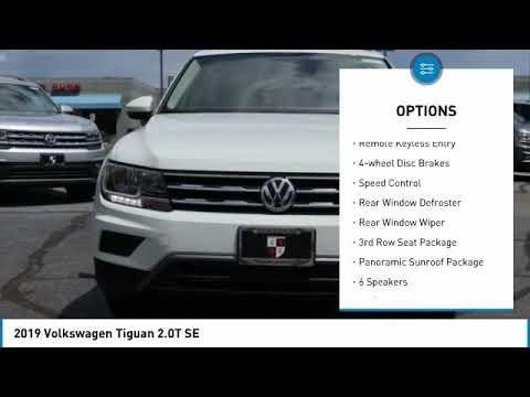 2019 Volkswagen Tiguan Boulder Colorado M096876