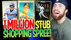 $1,000,000 STUB SPENDING SPREE! MLB The Show 20 Diamond Dynasty