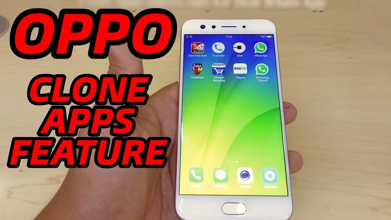 Oppo Clone Apps Feature