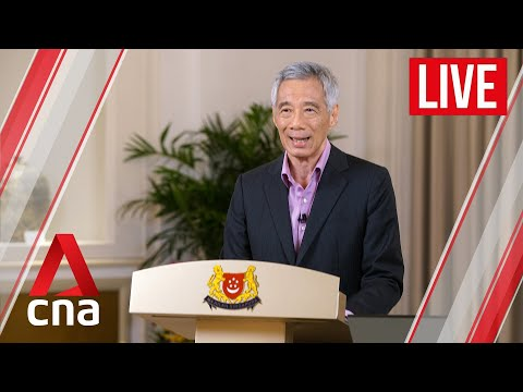 [LIVE HD] PM Lee Hsien Loong's address on keeping COVID-19 situation under control in Singapore