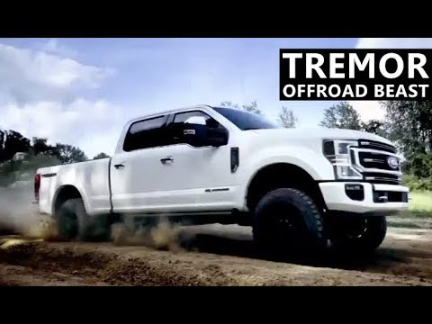 Tremor Off Road Package for 2020 Ford F-Series Super Duty