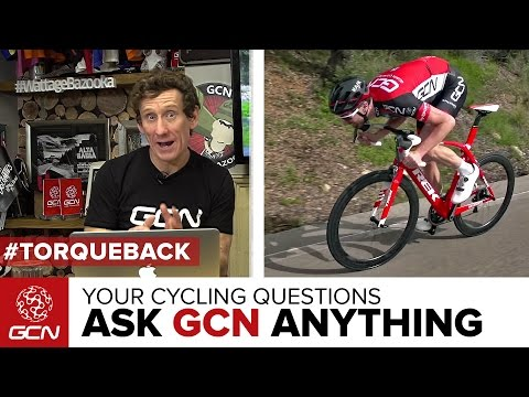 How Do I Accelerate Faster?   Ask GCN Anything About Cycling