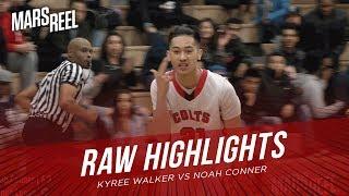 Kyree Walker vs Noah Conner | Moreau Catholic vs James Logan | RAW HIGHLIGHTS