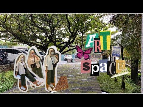 Selasar Sunaryo Art Space | Bandung | Aesthetic vlog ✨🦋