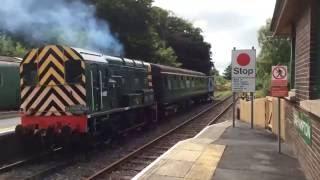 A Ride On 08937 'D4167' On The Dartmoor Railway - Okehampton - Meldon Viaduct - 28th August