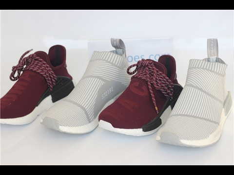 a6ae6a893f996 Adidas NMD  Pharrell Williams NMD Humanrace Wine Red+ NMD City Sock  Primeknit Review