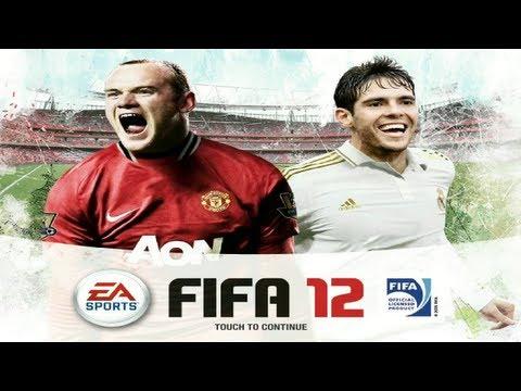 FIFA 12 iPad Gameplay