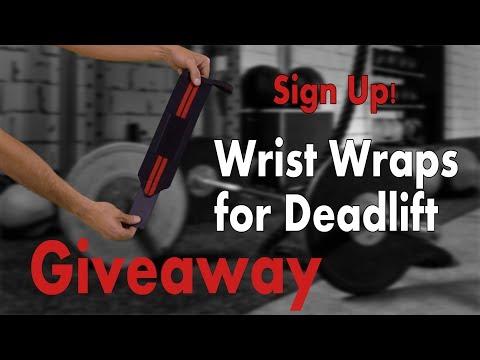 Wrist wraps for deadlift Giveaway! WinWristWraps.info