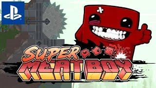 Ja Nie Umiem w Pada od PlayStation 4!  Przypadkowe #156: Super Meat Boy  || PS4