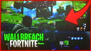 Fortnite Glitches : New Underground Wallbreach on Loot lake ( Fortnite Season 5 Glitches )