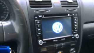 Installazione Autoradio VW GOLF 5 MK5 Install 2 DIN GPS